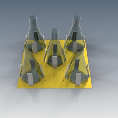 Aux Cálculo de plataforma y soportes (Erlenmeyer 1000 cc)