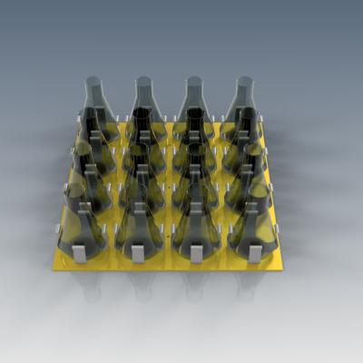 Aux Cálculo de plataforma y soportes (Erlenmeyer 250 cc)