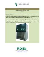 Cabina de bioseguridad Clase 2 A1-A2